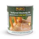 Rustins textured decking oil