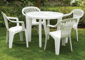 pvc garden furniture